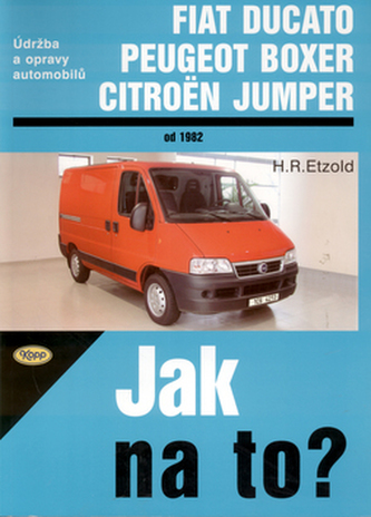 Ducato, Boxer, Jumper od 1982