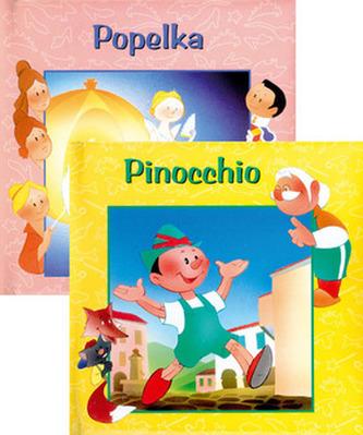 Balíček 2ks Popelka + Pinocio