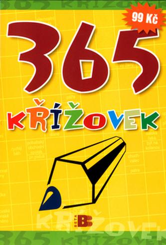 365 křížovek žlutá