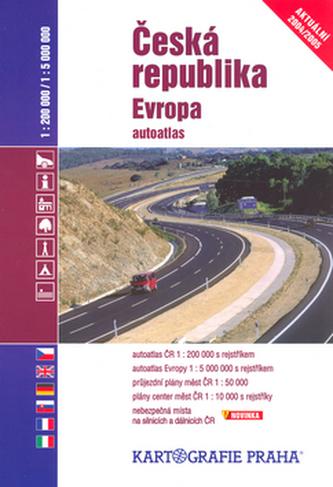 Česká republika, Evropa autoatlas