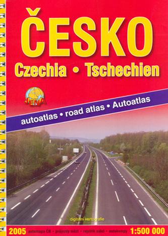 Autoatlas ČR 1:500 000