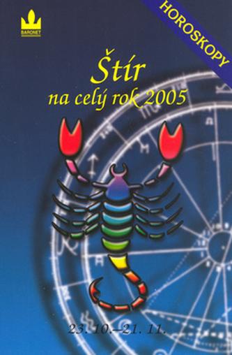 Horoskopy na celý rok 2005  Štír