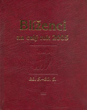 Blíženci na celý rok 2005