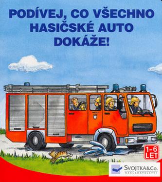 Podívej, co všechno hasičské auto dokáže