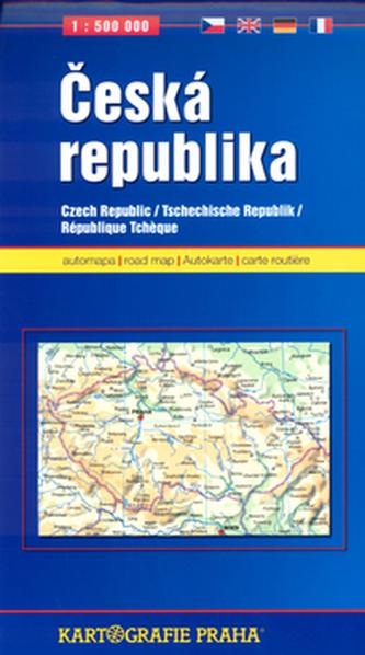 Česká republika 1:500 000