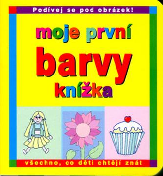 Moje první knížka Barvy