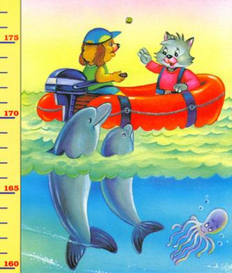Dětský metr 9. (moře+zajíček)