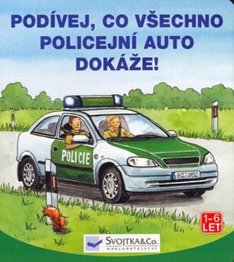 Podívej, co všechno dokáže policejní auto!