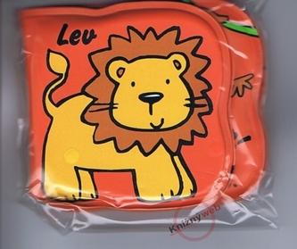 Lev - Knižka do vaničky pre malé ručičky