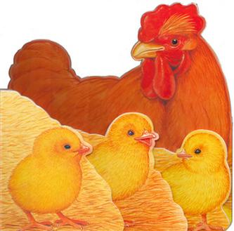 Kuřátko a jeho rodina