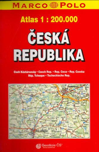 Česká republika 1:200 000
