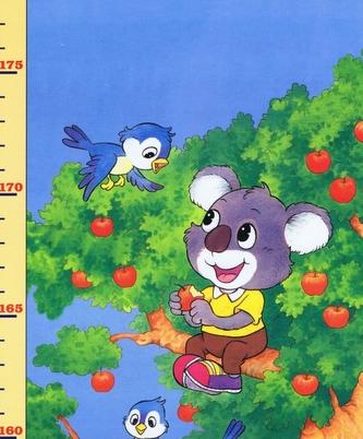 Dětský metr 11. (strom zvířat+zvířata)