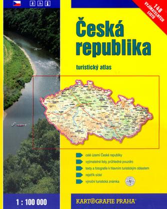Česká republika turistický atlas 1:100 000