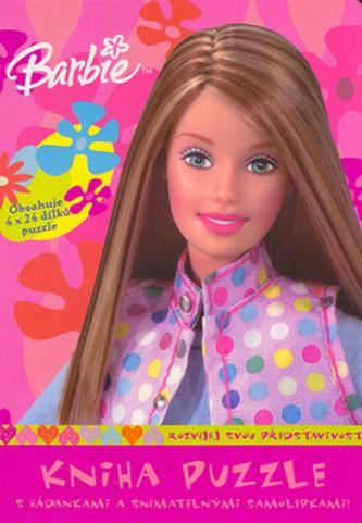 Barbie Kniha puzzle