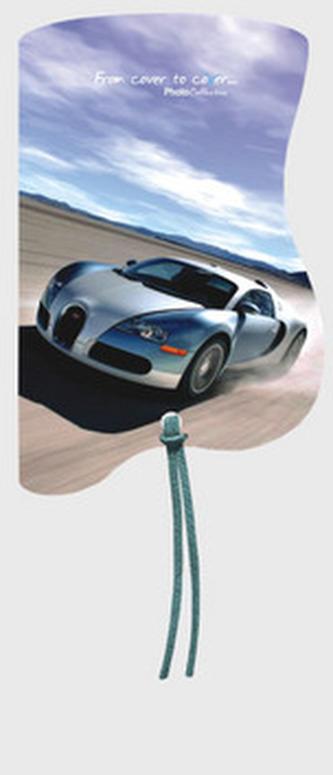 Magnetická záložka Bugatti - MZ 026