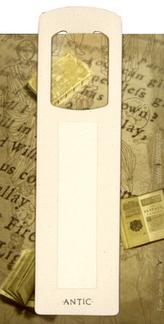 Antická záložla Chrám krémová - AZ 009