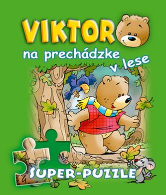 Viktor na prechádzke v lese