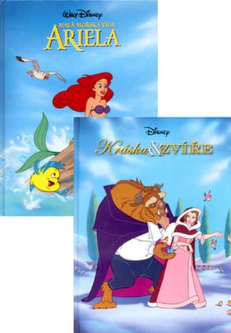 Balíček 2ks Kráska a zvíře + Ariela