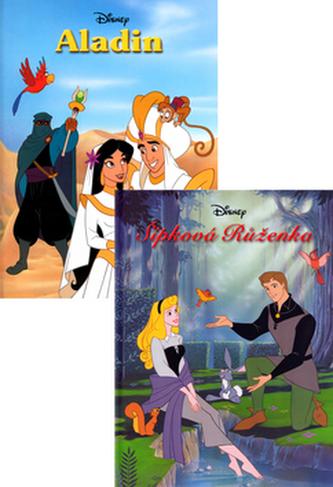 Balíček 2ks Šípková Růženka + Aladin