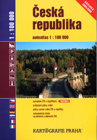 Česká republika Autoatlas 1:100 000