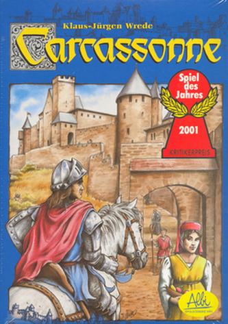 Stolní společenská hra Carcassonne