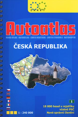 Autoatlas ČR 1:240 000