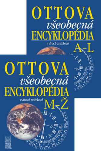 Ottova všeobecná encyklopédia v dvoch zväzkoch A-L, M-Ž