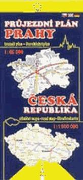 Průjezdní plán Prahy + ČR