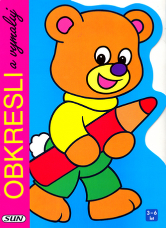 Obkresli a vymaluj Medvěd