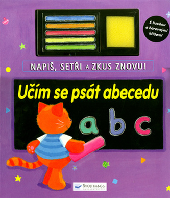 Učím se psát abecedu
