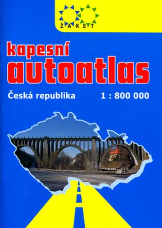 Kapesní autoatlas Česká republika