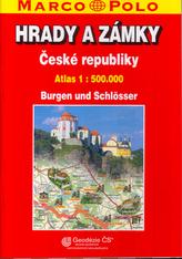 Hrady a zámky ČR/atlas 1: 500 T