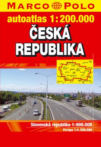 Autoatlas ČR 1:200 000
