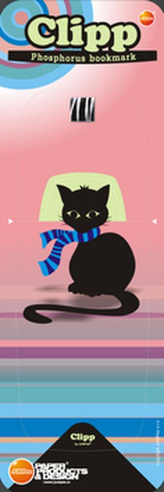 Svítící záložka Kočka - SZ 005