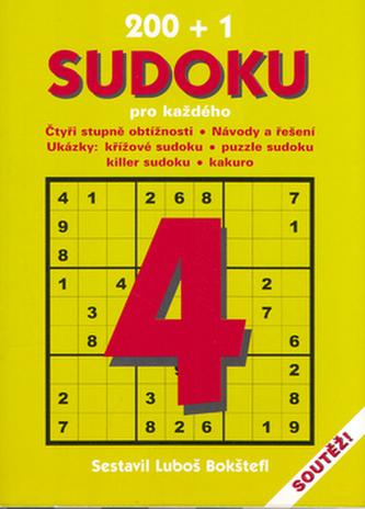 200+1 sudoku pro každého 4