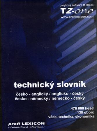Technický slovník česko-anglický, anglicko-český, česko-německý, německo-český