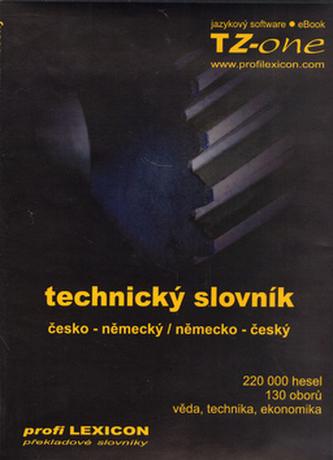 Technický slovník česko-německý, německo-český