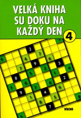 Velká kniha sudoku 4 na každý den