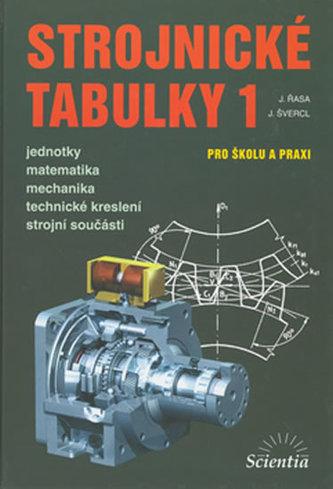 Strojnické tabulky 1 - Jaroslav Řasa