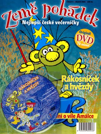 Země pohádek Rákosníček a hvězdy + DVD