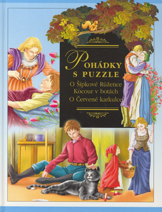 Pohádky s puzzle Šípková Růženka