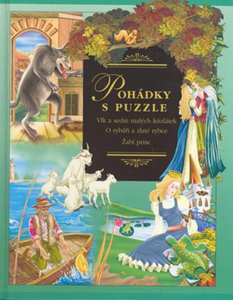 Pohádky s puzzle Vlk a sedm kůzlátek