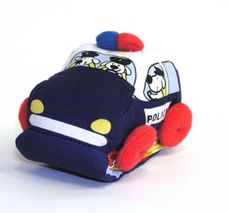 Policie kniha s motorkem