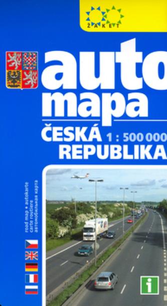 Automapa ČR 1 : 500 000