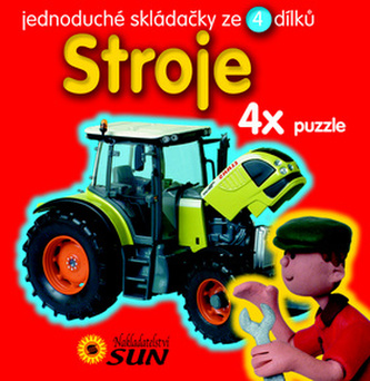 Stroje 4x Puzzle