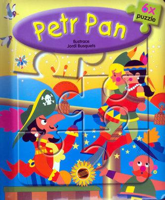 Petr Pan 6x puzzle