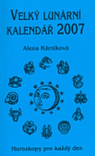 Velký lunární kalendář 2007