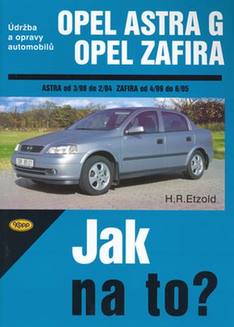 Opel Astra G, Opel Zafira od 3/98 do 6/05
