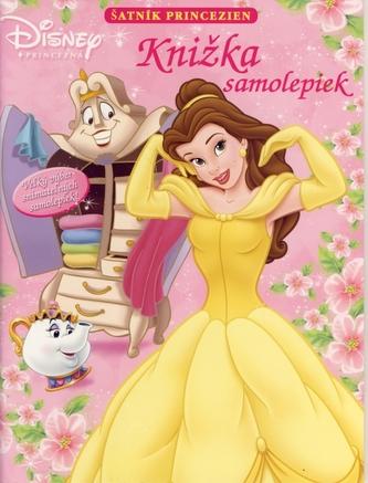 Šatník princezien - knižka samolepiek