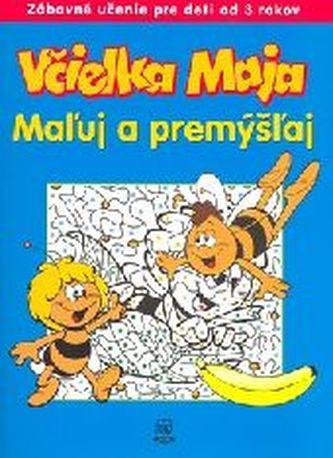 Včielka Maja Maľuj a premýšľaj